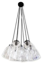 Large pendant 7 lights Lucile. Angel des Montagnes.