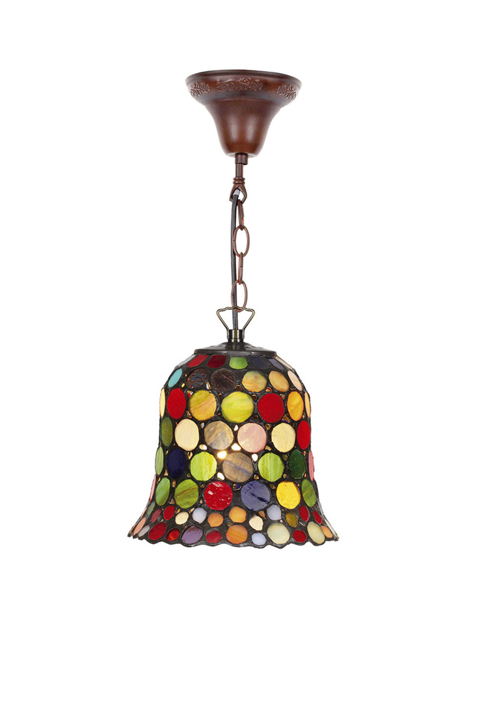 Mini suspension clochette Tiffany. Artistar.