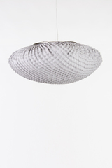 Large round and white pendant Tati. Arturo Alvarez.