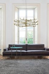 Grand siecle large chandelier 24-karat gold. AXIS71.