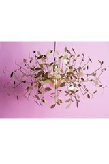 Indian summer large golden chandelier . AXIS71.