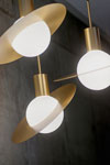 Small pendant very original design, Saturn. CVL Luminaires.