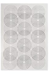 Résonance tapis gris 160x230. Edito Paris.