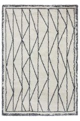 Tapis graphique Pyramid gris 135x190. Edito Paris.