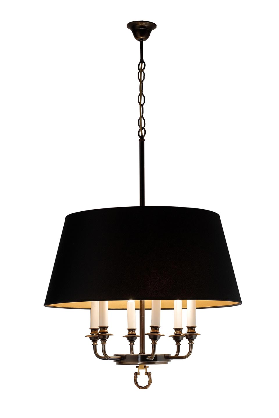 Juliette suspension chandelier bronze. Estro.