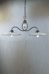 Double pendant lamp L