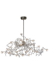 Jewel Diamond clear 24-light chandelier in clear glass. Harco Loor.