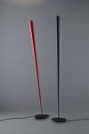 Drink floor lamp in black carbon. Karboxx.