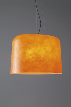 Ola suspension orange en fibre de verre. Karboxx.