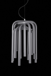 Pipes anthracite grey tubes pendant. Karboxx.