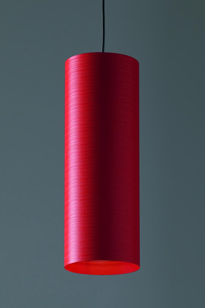 Suspension rouge tube de fibre de verre Tube 30cm. Karboxx.