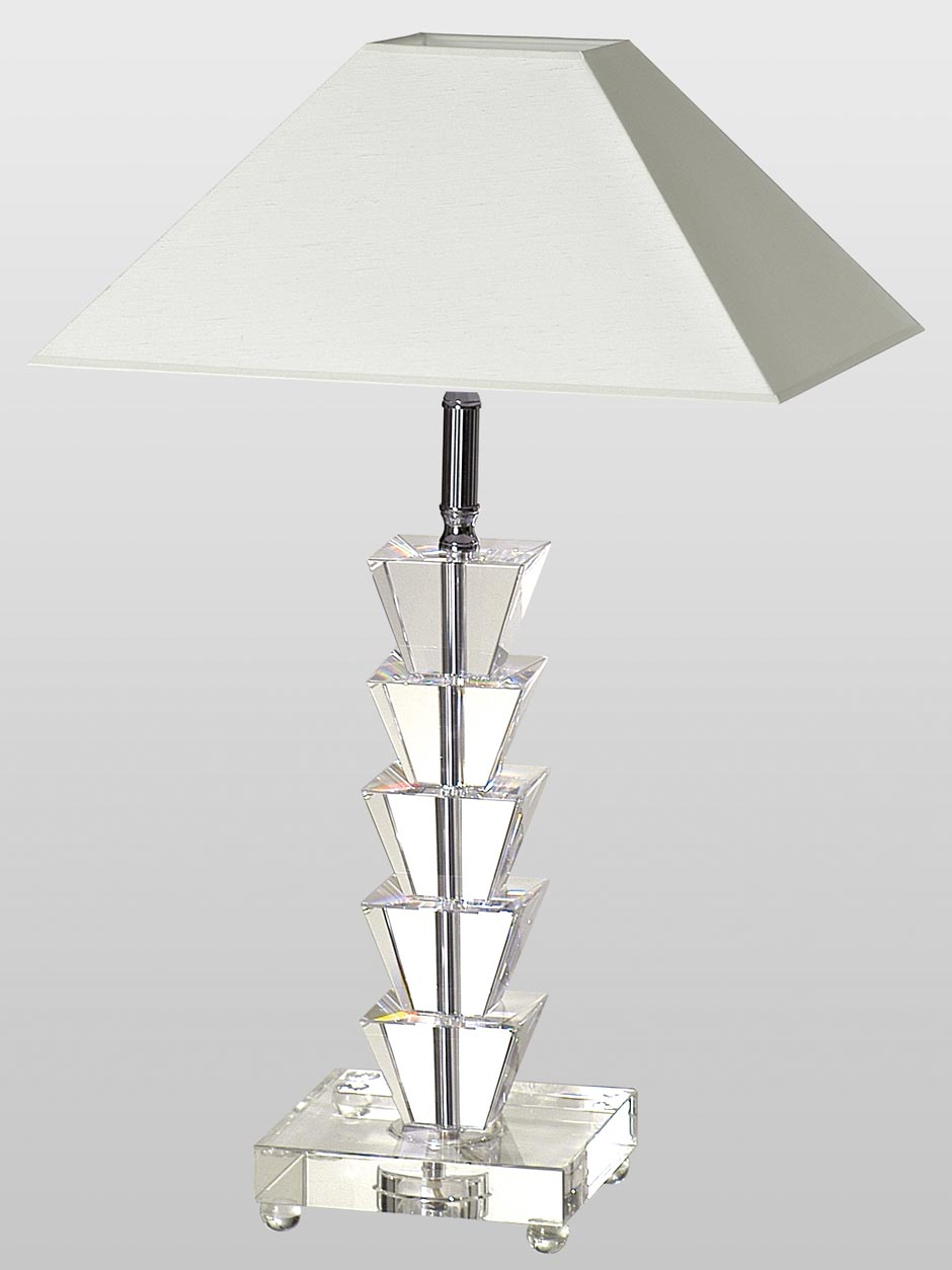 Prism AC lampe de table. Le Dauphin.