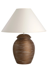Ornando MR ceramic table lamp large model. Le Dauphin.