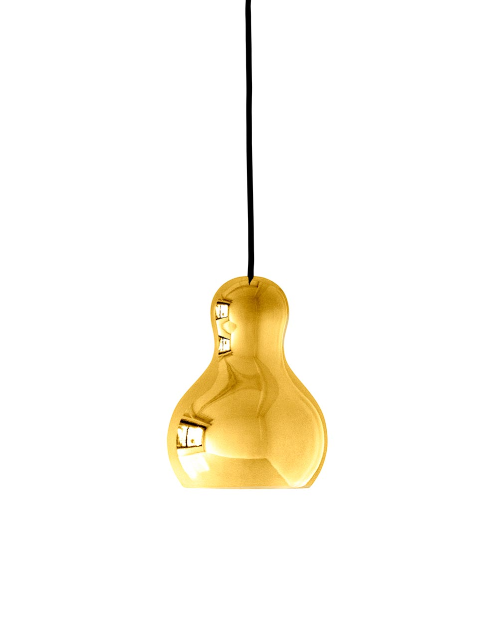 Calabash suspension PM gold. Light Years.