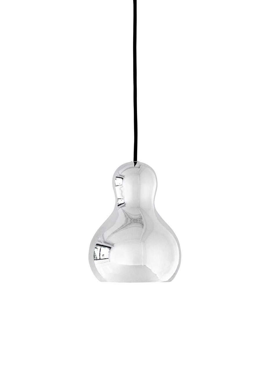 Calabash suspension PM silver. Light Years.