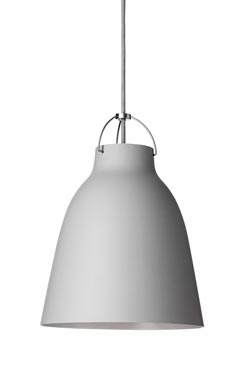 Caravaggio Matt suspension MM gris 25-clair- mat. Light Years.