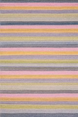 Tapis Enjoy rayures multicolore - 140x200cm. Ligne Pure.