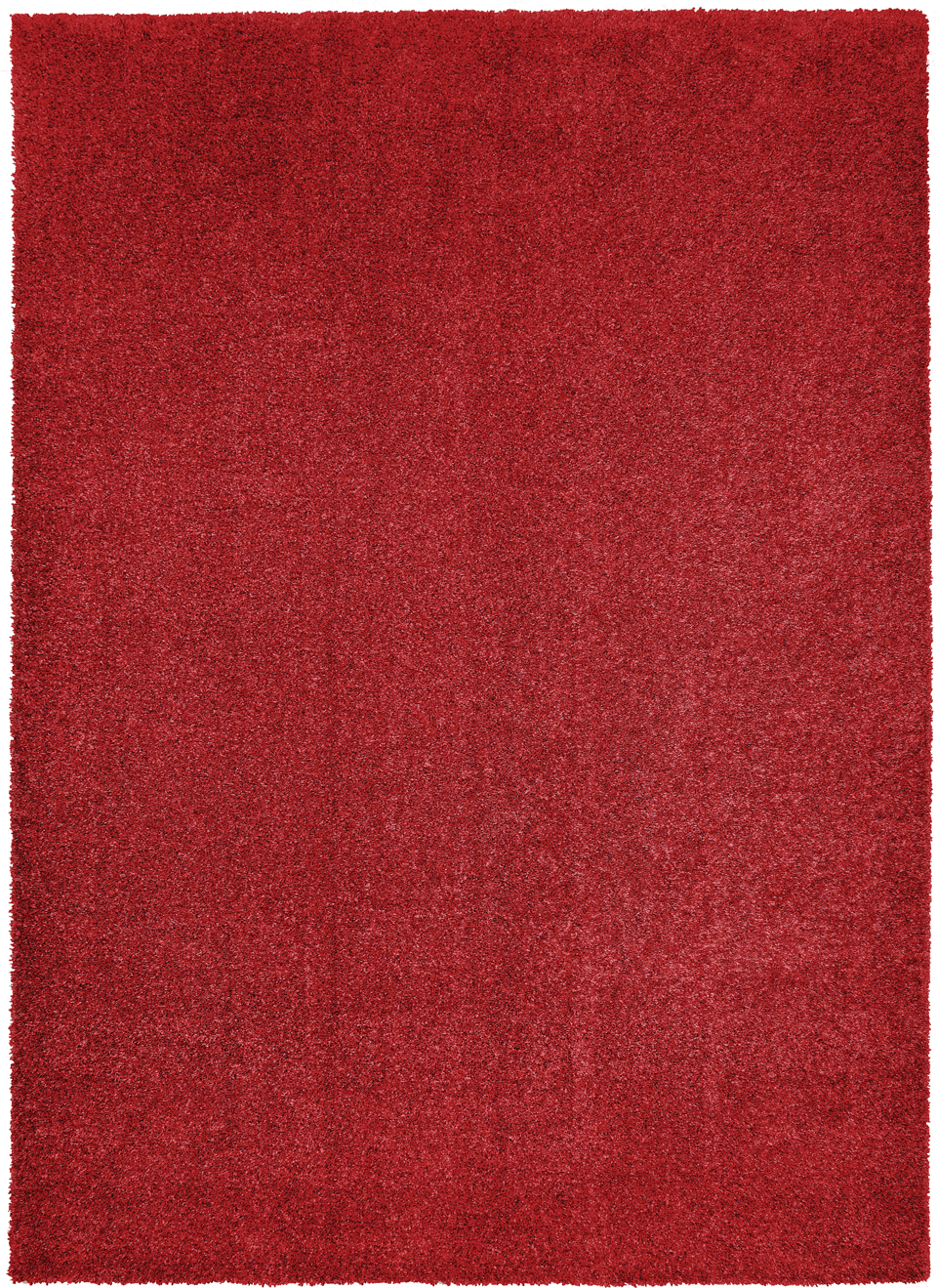 Tapis chiné rouge coquelicot Toscana 60x115. MA Salgueiro.