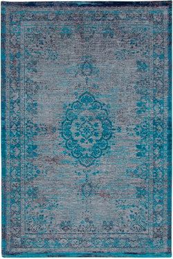Tapis Reloaded chenille Turquoise 60X90. MA Salgueiro.