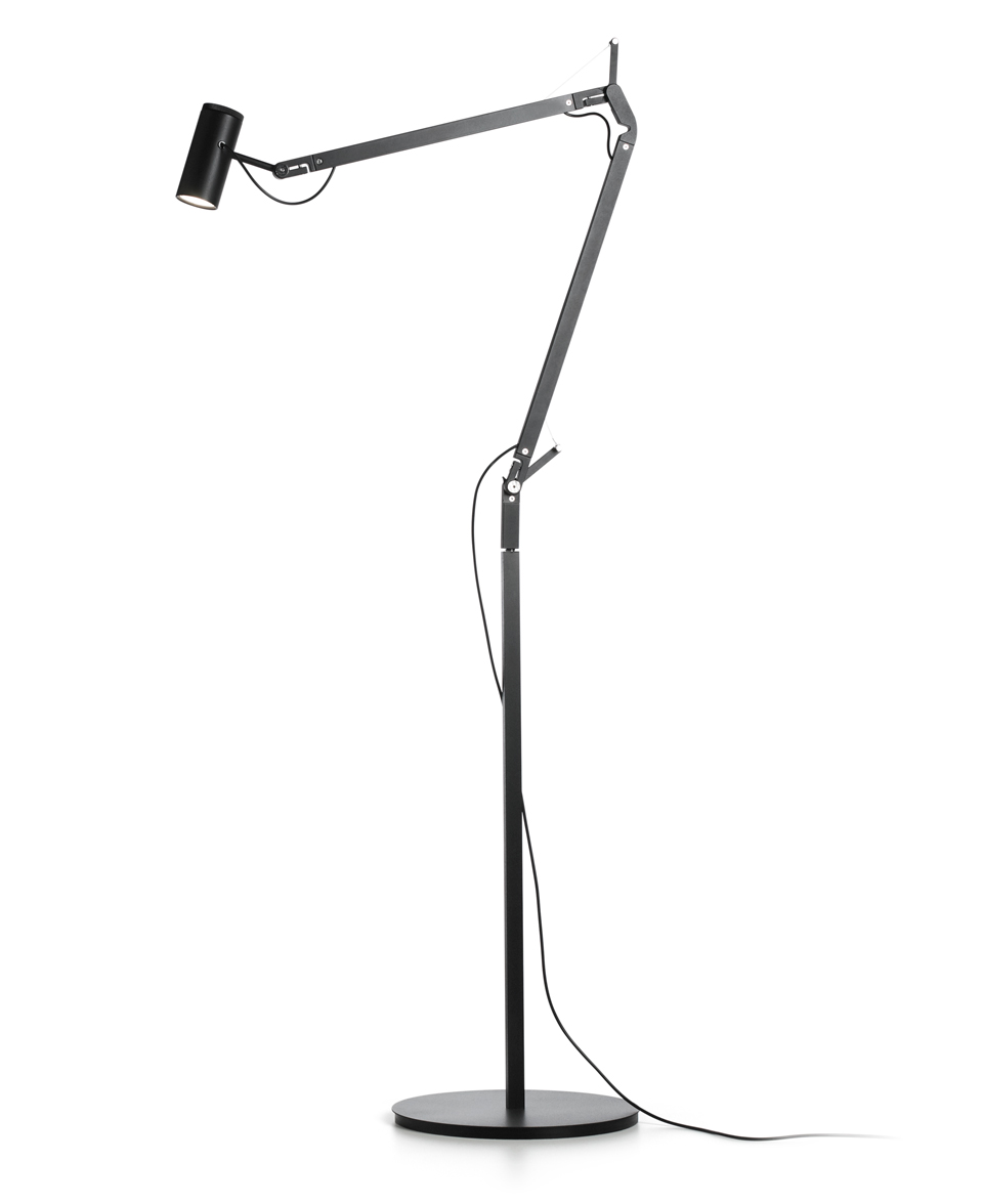 lampadaire design LED Polo noir . Marset.