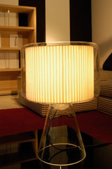 Mercer lampe ruban beige MM. Marset.