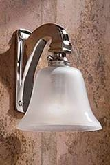 Bell Light 12V applique en bronze nickelé poli. Nautic by Tekna.