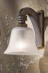 Bell Light 230V applique bronze antique. Nautic by Tekna.