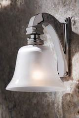 Bell Light 230V applique en bronze chromé. Nautic by Tekna.