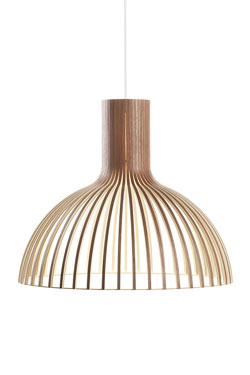 Victo suspension scandinave en noyer. Secto Design.