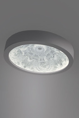 Dome ceiling lamp large model classic pattern in relief. Sedap.