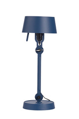 Little blue table lamp industrial style. Tonone.