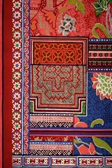 Tapis de salon Baya multicolore rouge 170x240cm. Toulemonde Bochart.