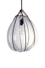 Pendant Bundle in clear glass. Vanessa Mitrani.