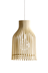 Firefly pendant lamp in natural rattan. Vincent Sheppard.