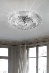 Novecento large ceiling light with powerful lighting. Vistosi.