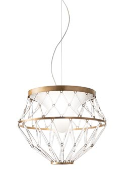 Starnet suspension finition bronze. Vistosi.